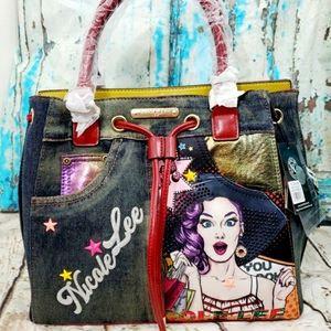 "Nicole Lee "" Wow its Lucy Denim Bag"